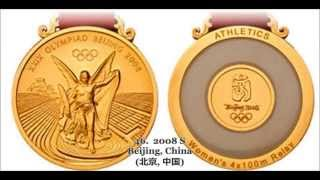 Olympic Gold Medals History [1896~2014]