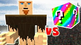 GIGANTES VS. LUCKY BLOCK (MINECRAFT LUCKY BLOCK CHALLENGE)