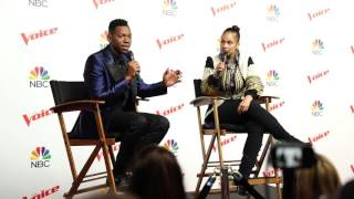 The Voice Finale Press Conference Highlights With Chris Blue & Alicia Keys