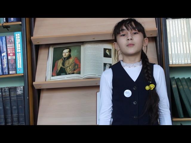 Изображение предпросмотра прочтения – ГюльнарНабиева читает произведение «Весна» М.Ю.Лермонтова