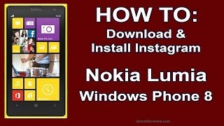 Lumia 1020 - How To Download & Install Instagram