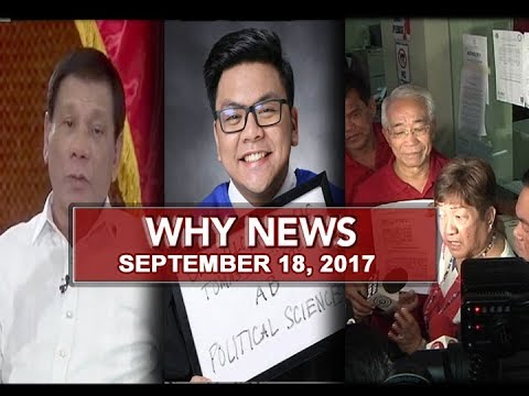 UNTV: Why News (September 18, 2017)