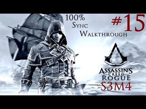 Assassin's Creed Rogue - 100% Sync Walkthrough - Part 15 - Sequence 3 Memory 4