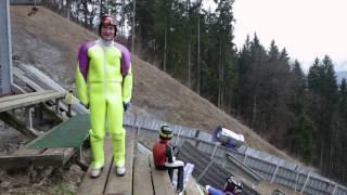 Eddie the Eagle's top three ski jumping tips