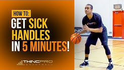 How to - Get SICK HANDLES in ONLY 5 Minutes a Day! (Pro Basketball Dribbling / Ball Handling Drills)
