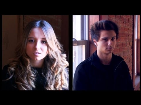 Princess of China - Coldplay (ft Rihanna) | Ali Brustofski & Connor Brustofski Cover (Music Video)