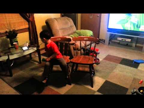 Charlie Brown musical chairs