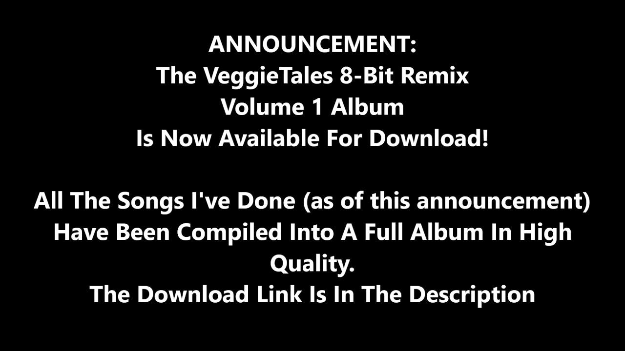 VeggieTales NES 8-Bit Remix Announcement