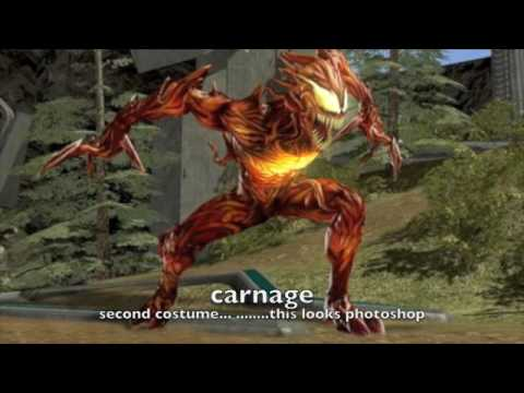 Marvel ultimate alliance 2 downloadable :Carnage, cyclops ... Marvel Now Psylocke