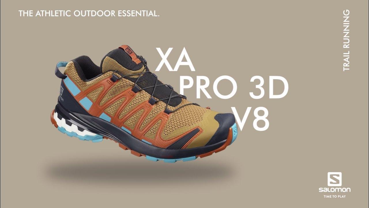 Trail Running Shoe Homme SALOMON XA Pro 3D V8