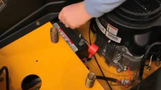 How to Change the Gas on a Cub Cadet Zero Turn Riding Lawn Mower