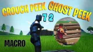 Fortnite Season 10 NEW Crouch Peek/Ghost Peek Macro Hack