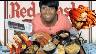 Red Lobster 🦞 Seafood Mukbang