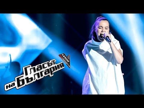 Viktoria Dinkova – Titanium - The Voice of Bulgaria 5 – Quarterfinals (20.05.2018)