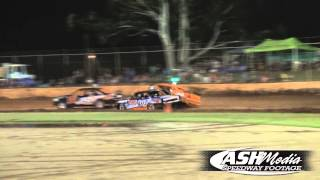 Modified Sedans: Josh Wicks Rollover - Kingaroy Speedway