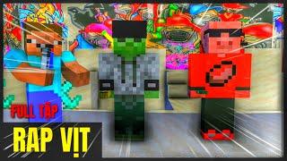 [ Lớp Học Quái Vật ] CUỘC THI RAP VỊT CỦA LỚP #fullTập| Minecraft Animation