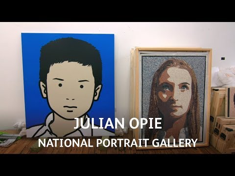 Julian Opie | National Portrait Gallery | Van Dyck: A Master