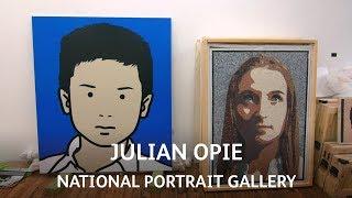 Julian Opie | National Portrait Gallery | Van Dyck: A Masterpiece for Everyone