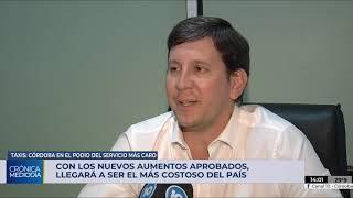 Con los nuevos aumentos, Córdoba tendrá el taxi más caro del país