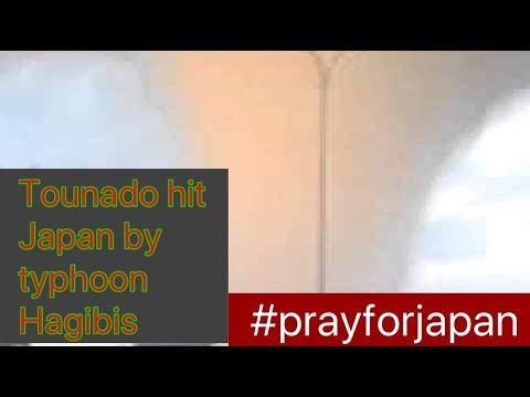 Tournado hit chiba by typhoon hagibis