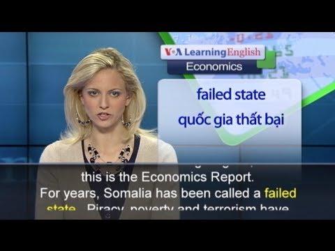 Phát âm chuẩn cùng VOA - Anh ngữ đặc biệt: Somalia Investment (VOA-Econ)