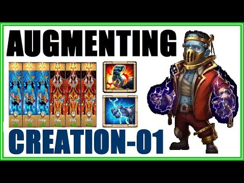 Augmenting CREATION-01 And Rolling Traits Castle Clash
