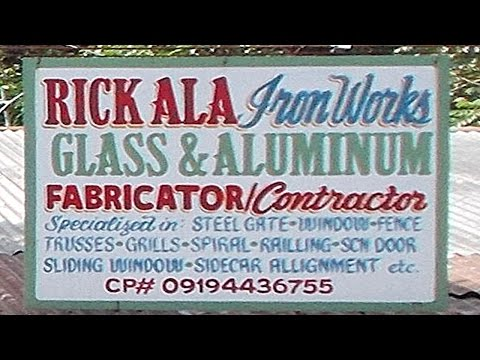 A Vist to Rick Ala's Metal Fabrication Shop - Bulacan, Philippines