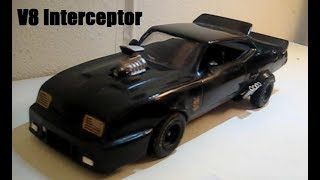 Mad Max V8 Interceptor Model Scratch Build Project -Time Lapse