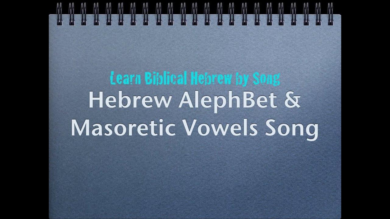 Prophetic Hebrew Alphabet