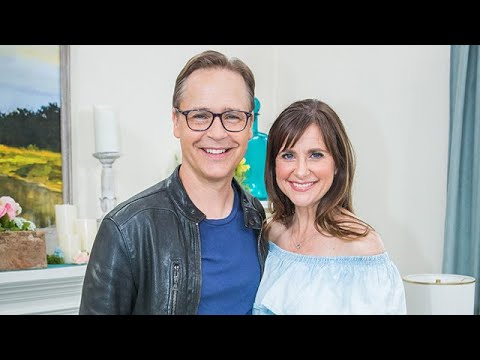 Kellie Martin and Chad Lowe visit  Home & Family
