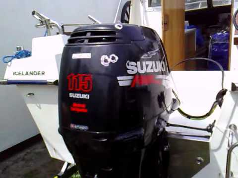 Suzuki df 115 hp outboard motor 2006r four stroke 4 suw for Suzuki outboard motor repair