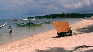 Boracay Island, Malay, Aklan - Back Beach Noon