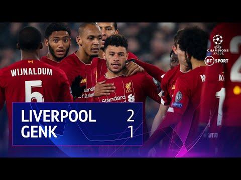 Liverpool vs Genk (2-1) UEFA Champions League Highlights