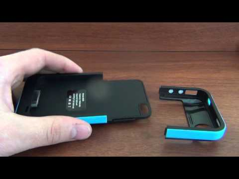 Чехол-аккумулятор Edge Power M9B 1900mAh для iPhone 4/4s