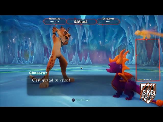 Seb: Spyro 2 on continue notre aventure Ep.6