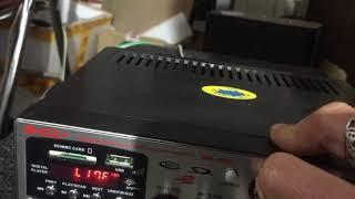 Amply karaoke 12v 220v MA 009 giá 470k lh 0964867866