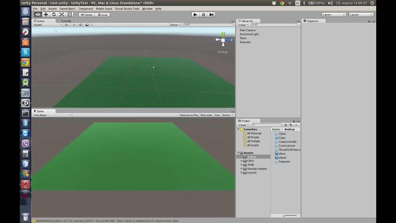 Unity 3d client, Java server (Socket) - YouTube