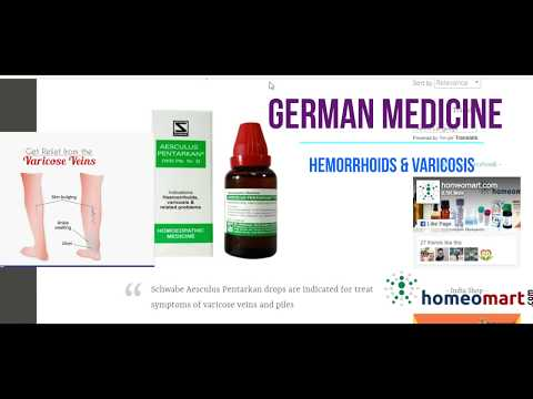 aesculus-pentarkan,-german-homeopathy-for-hemorrhoids,-varicosis