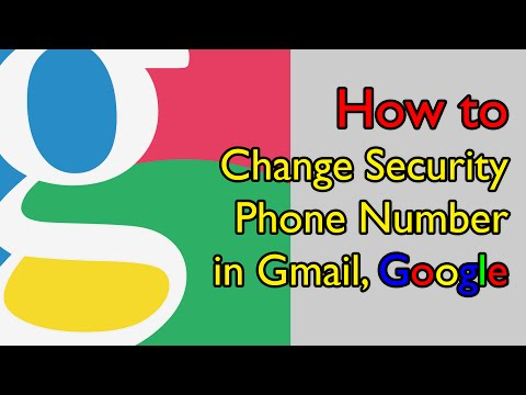 How to Change Security Phone Number in Gmail, Google - วิธีเปลี่ยนเบอร์โทรฯที่ใช้เชื่อมต่อกับอีเมล