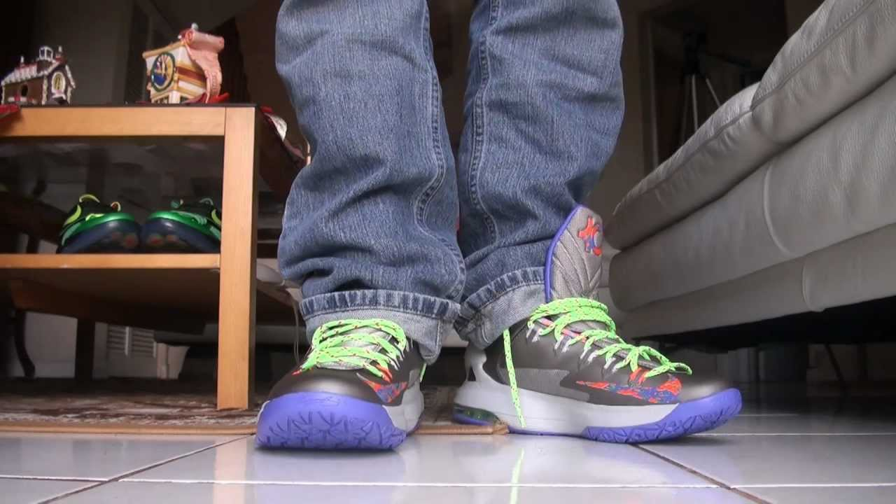 b4df34315fdff1 KD V Splatter Nerf On Feet Review - YouTube