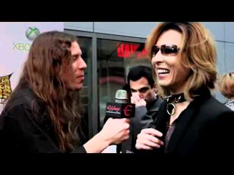 Golden Gods Awards 2012  X-JAPAN YOSHIKI