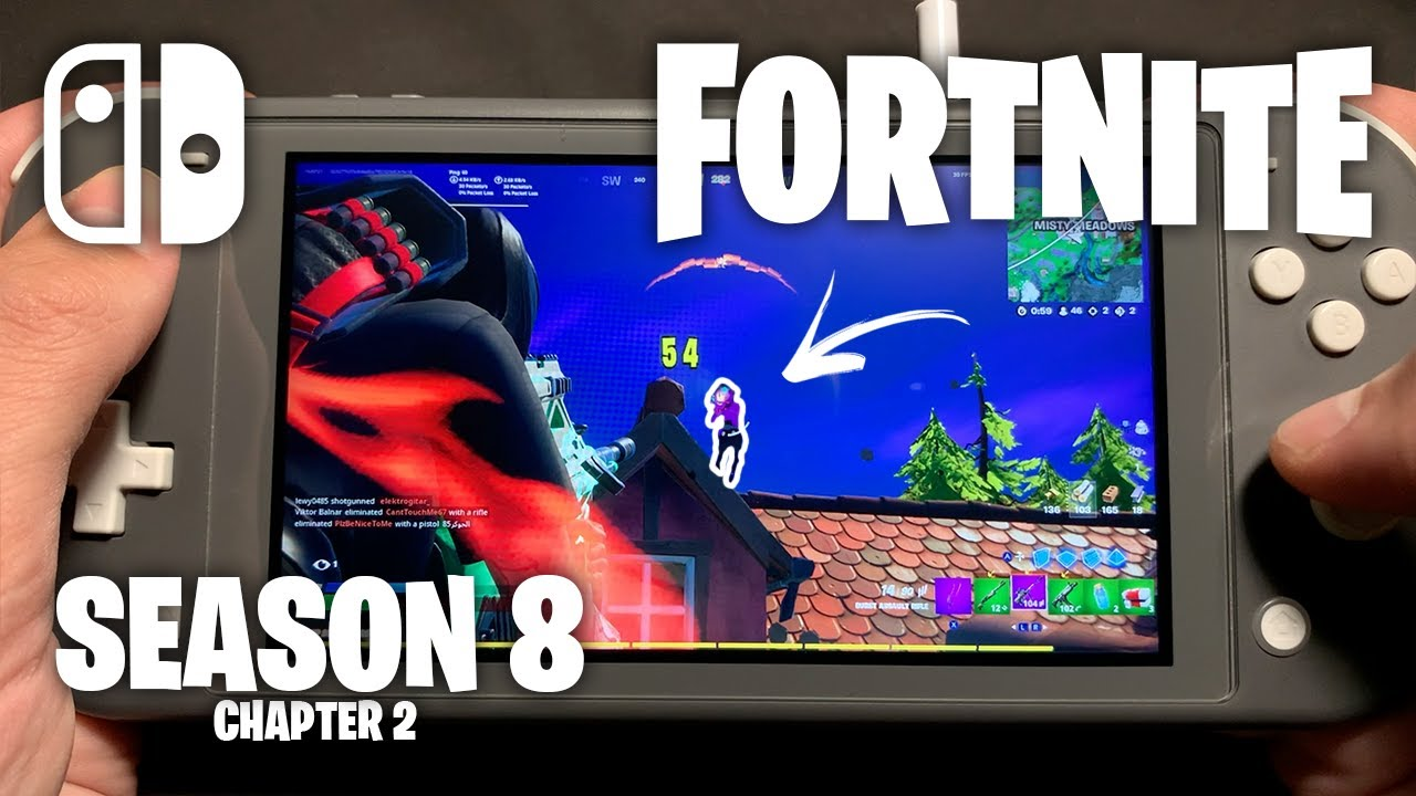CHAPTER 2 SEASON 8 - Fortnite on Nintendo Switch Lite #422