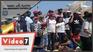 وزارة الشباب تنظم زيارة لأبناء القارة السمراء لمحمية رأس محمد