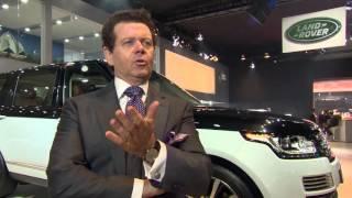 Jaguar Land Rover at the Delhi Motor Show 2016 - Interview Gerry McGovern | AutoMotoTV