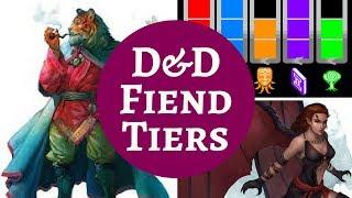 D&D MONSTER RANKINGS - FIENDS