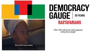 Democracy Gauge Rastafarians