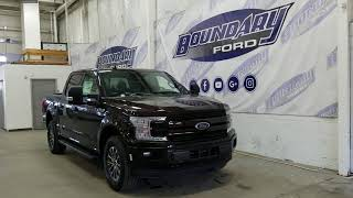 2018 Ford F-150 SuperCrew Lariat Sport 502A W/ 3.5L Ecoboost Overview | Boundary Ford