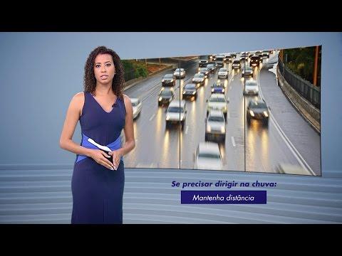Acidentes de Trânsito na Chuva | Perigos da Chuva - TV Gazeta