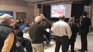 Colorado Springs Homelessness Town hall 10/17/18 Clip; Rent Control, landlords profiteering