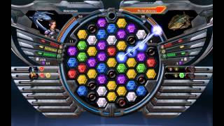 Puzzle Quest Galactrix PC 2009 Gameplay